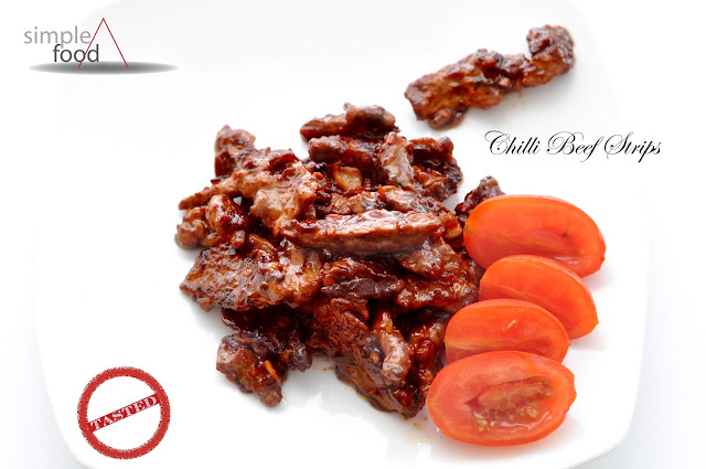 Chilli Beef Strips ~ Simple Food