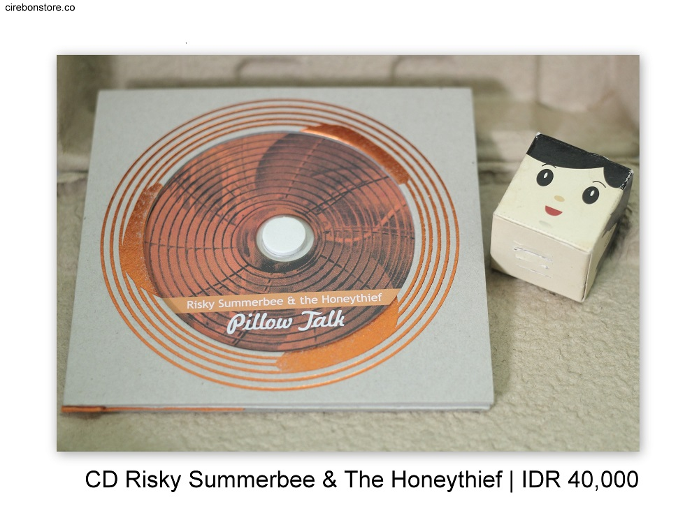 CD RISKY SUMMERBEE AND THE HONEYTHIEF - PILLOW TALK