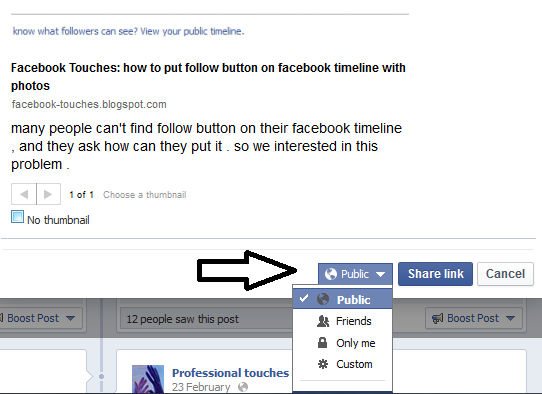 how to see friends comments on facebook timeline