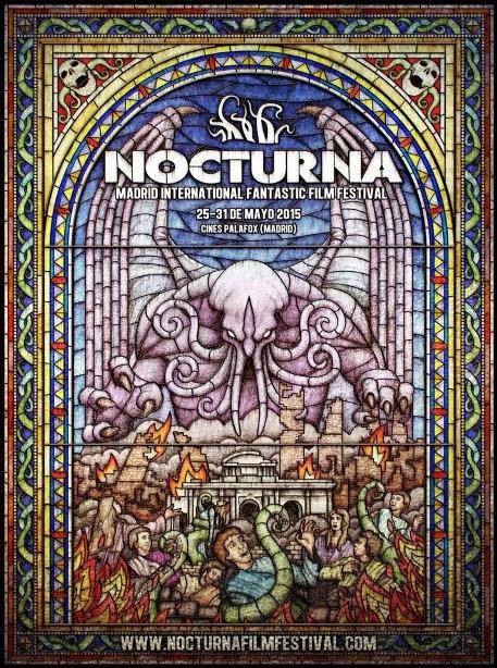 precioso poster del Festival Nocturna 2015