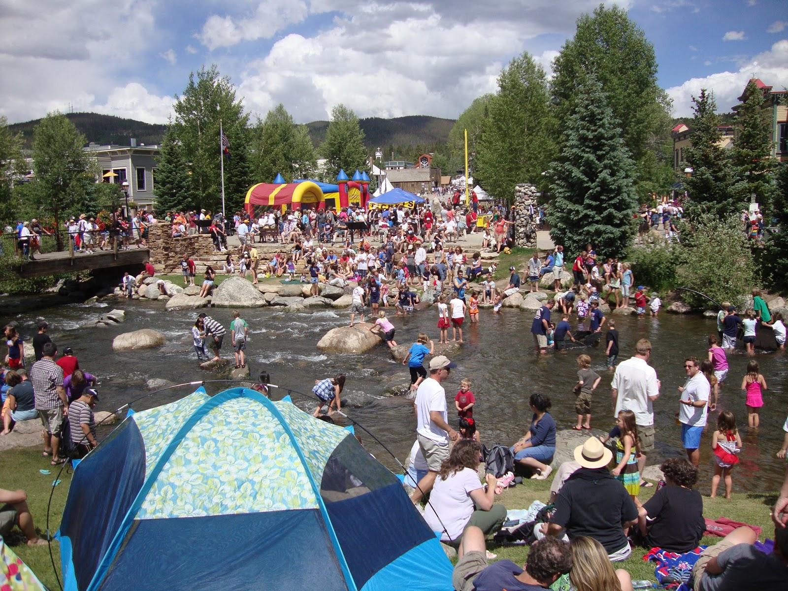 riverwalk center in breckenridge on the fourth of july