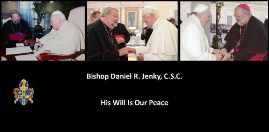 Bishop Daniel R. Jenky, CSC