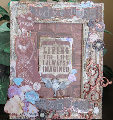 Living The Life I Always Imagined by Lynn Shokoples for BoBunny featuring the Penny Emporium Collection