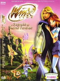 O Clube das Winx O Segredo do Reino Perdido RMVB + AVI DVDRip