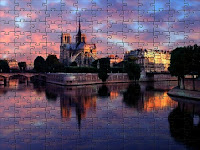 Notre Dame at Sunrise