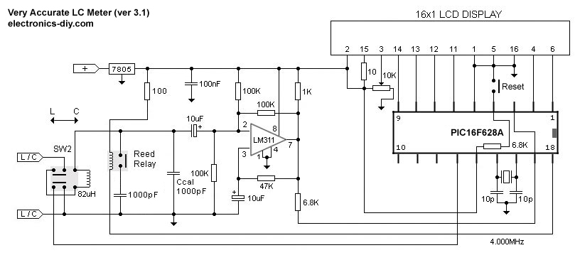 Welcome Schematic Electronic Diagram  Very Accurate Lc