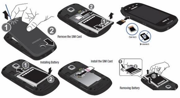 Samsung Galaxy S2 Sim Card Location Samsung S2 Sim Card