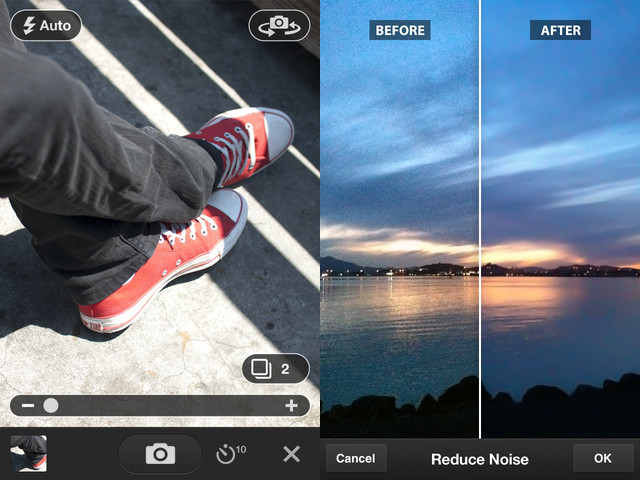 Mobile apps for photographers Adobe Photoshop Express