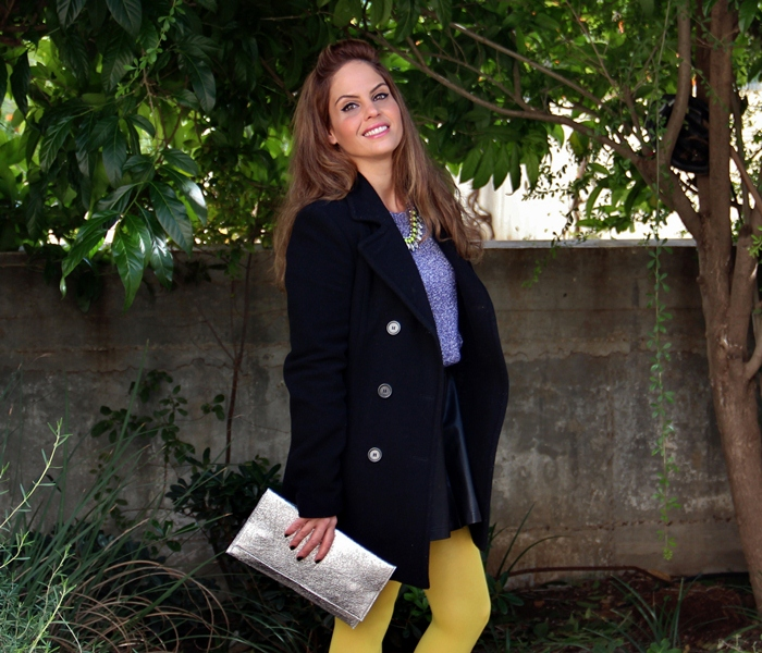 בלוג אופנה Vered'Style חורפי, זרחני ומנצנץ