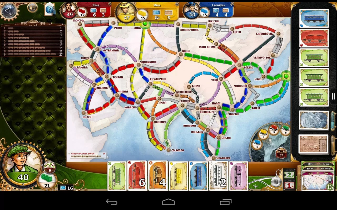 play ticket to ride online free