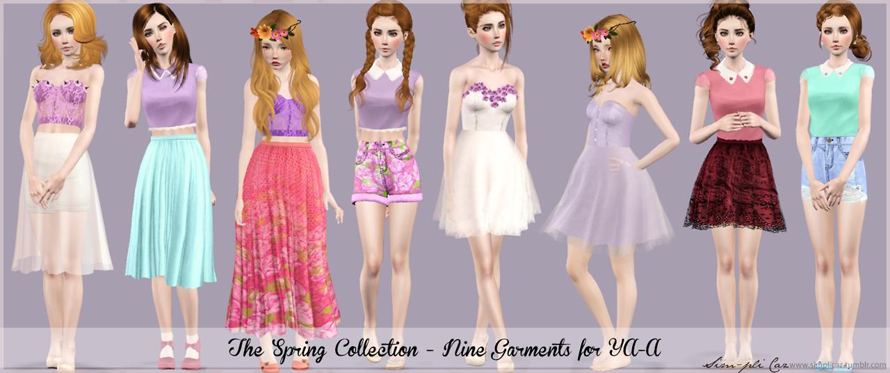 Создание своей одежды для симс 4 - Скачать симов женщин для Симс 4