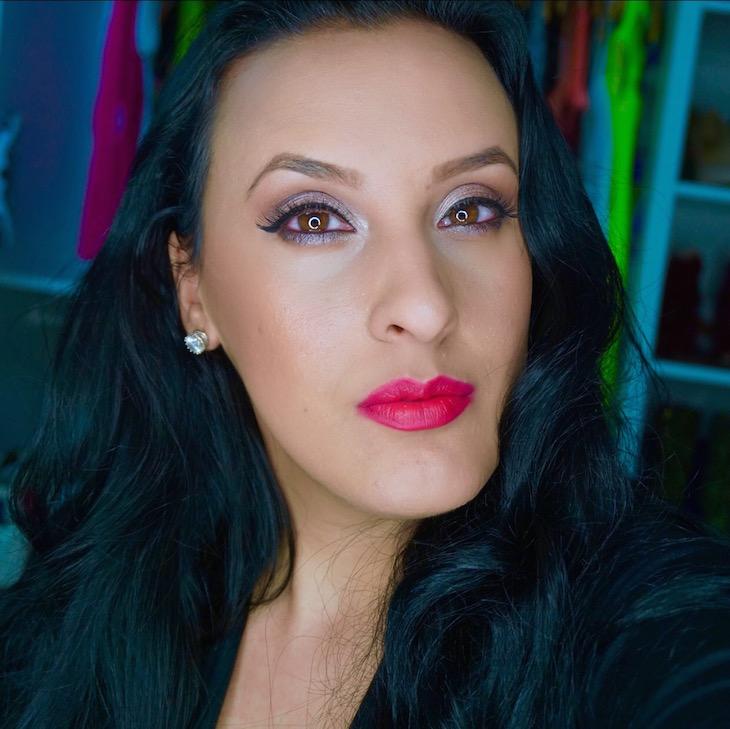 #MOTD-Cool-Tones-&-Dark-Fuchsia-Lips-PinkOrchidMakeup-Vivi-Brizuela