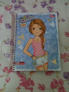 Caderno das Menininhas