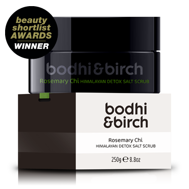 Bodhi & Birch Rosemary Chi Himalayan Detox Salt Scrub review