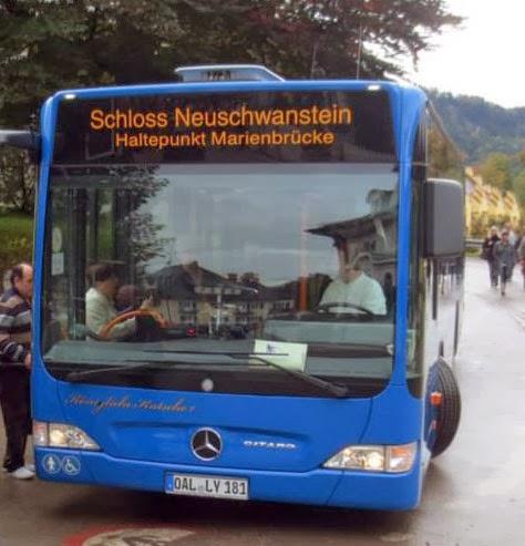 Bus Neuschwanstein