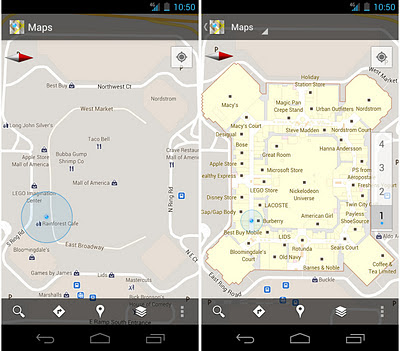 Google Maps 6.0 brings indoor maps to Android