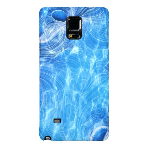 Blue Waves Galaxy Note 4 Case