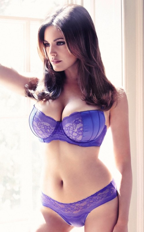 English model and actress Kelly Brook (real name : Kelly Ann Parsons