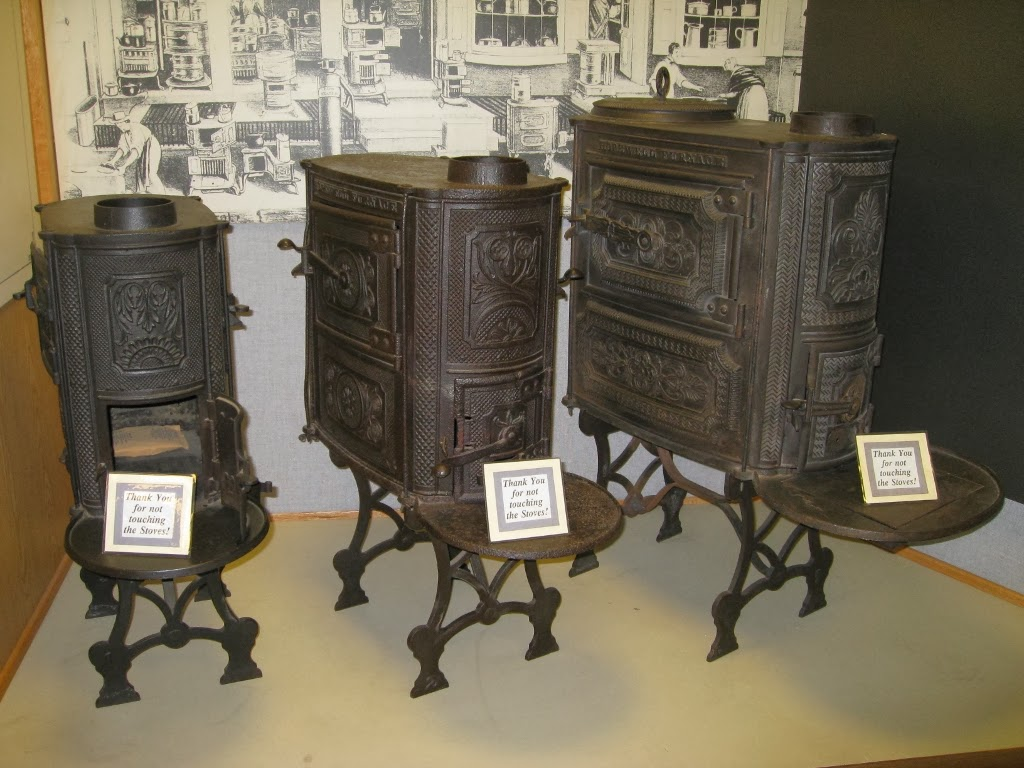 a stove less ordinary a collection of stoves from american hopewell furnace national historic site museum display of nine plate stoves april 2009 the big one on the right has got a