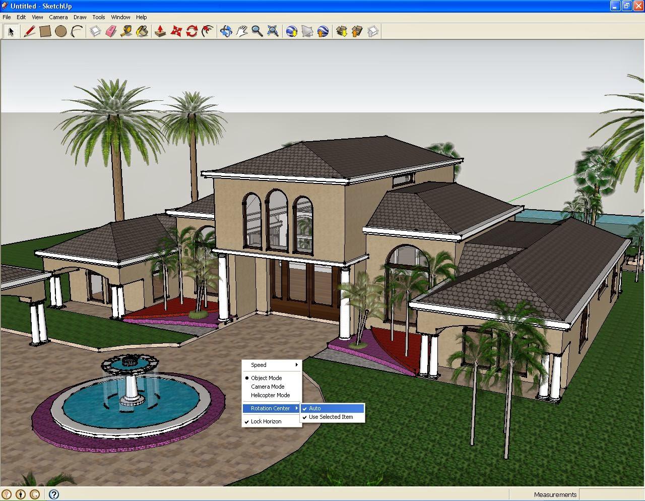 Google sketchup pro 2014 crack ativador completo e for Casa moderna sketchup download