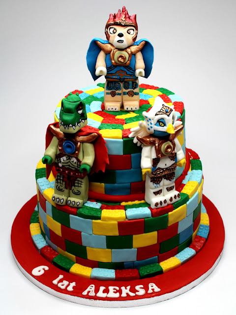 Lego Chima Birthday Cake London