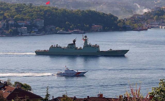 Chinese frigate 547 Linyi