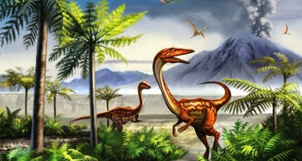Época dos dinossauros tinha 5 vezes mais CO2 do que hoje