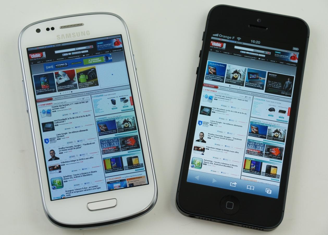 Apple iPhone 5 şi Samsung Galaxy S3 mini în oferta RCS& RDS