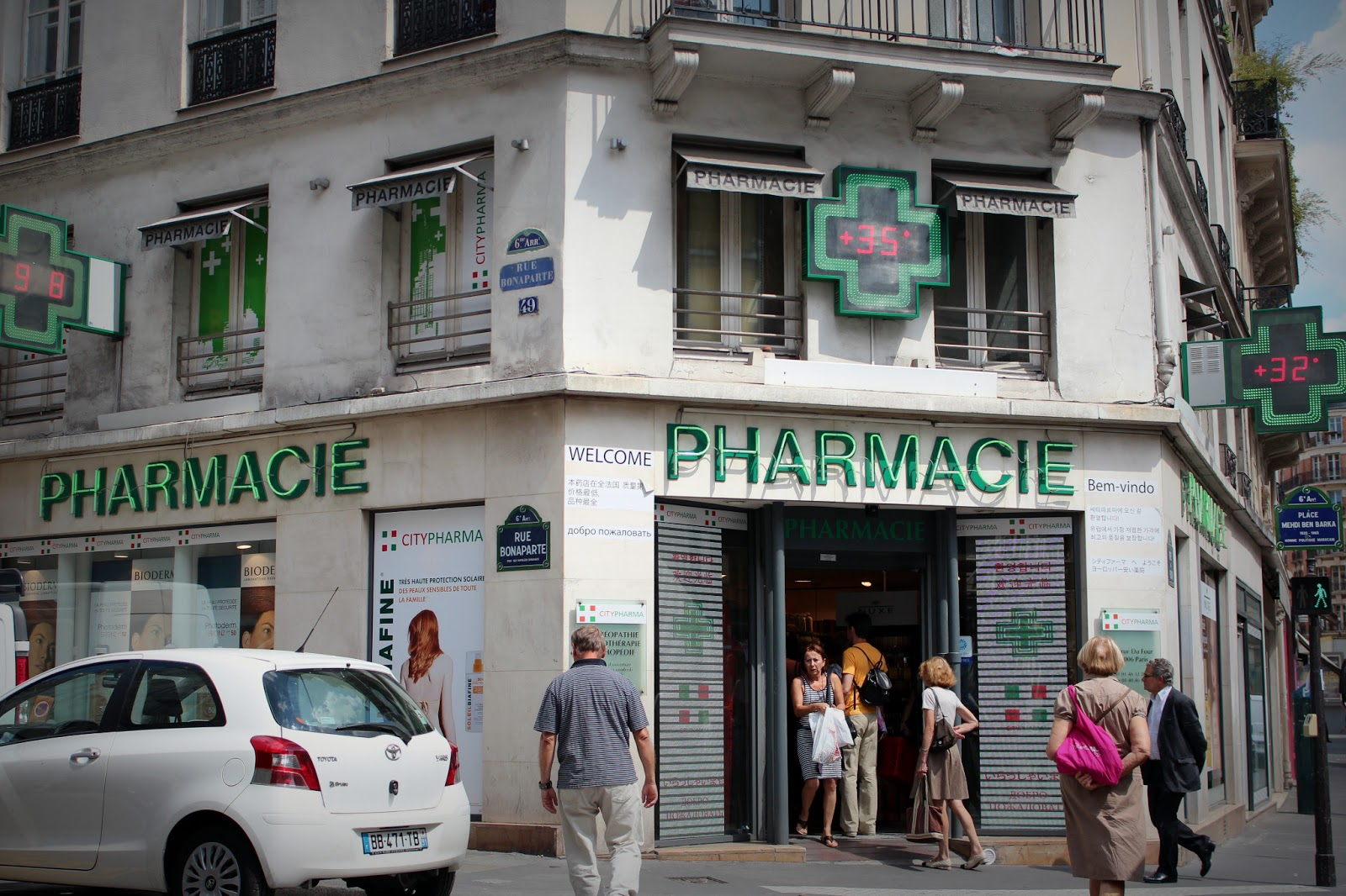 the cheapest and best pharmacy in paris lynncroyable. Black Bedroom Furniture Sets. Home Design Ideas