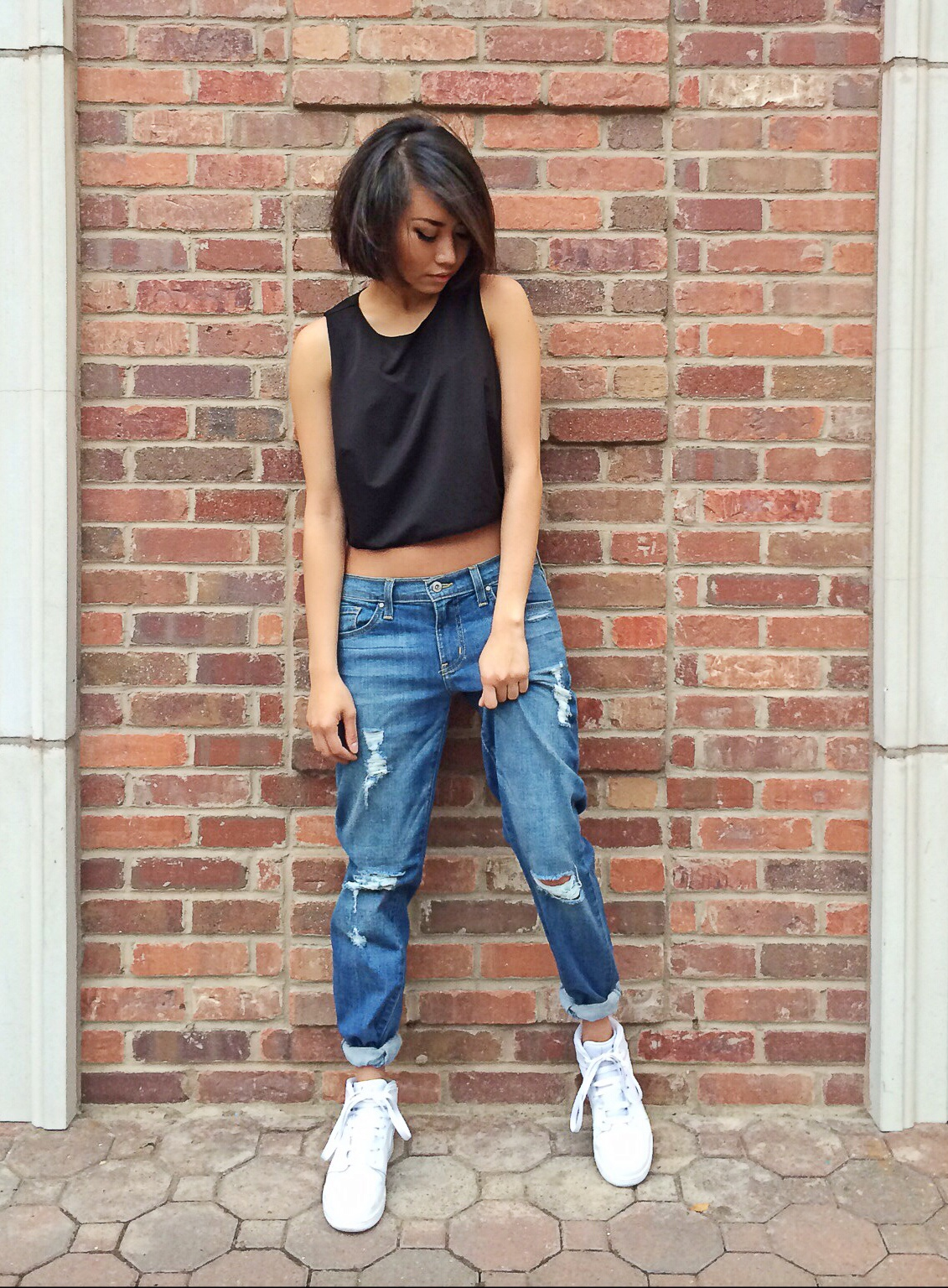 Different ways to wear crop top in the summer | Nakedlydressed