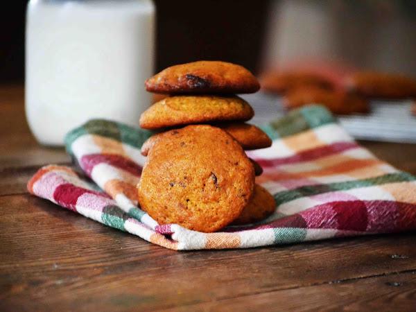 Sweet Potato Chocolate Chunk Cookies