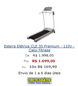 Comprar Esteira
