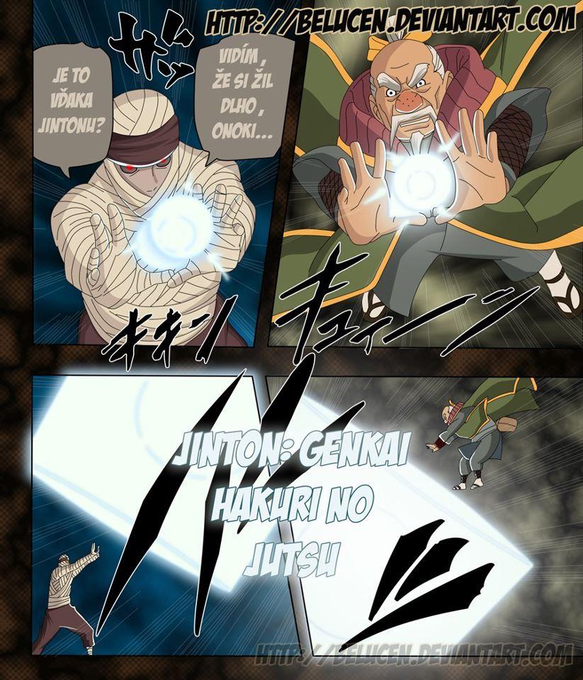 Alur Cerita Naruto Chapter 546 Bahasa Indonesia [ Versi Teks ]