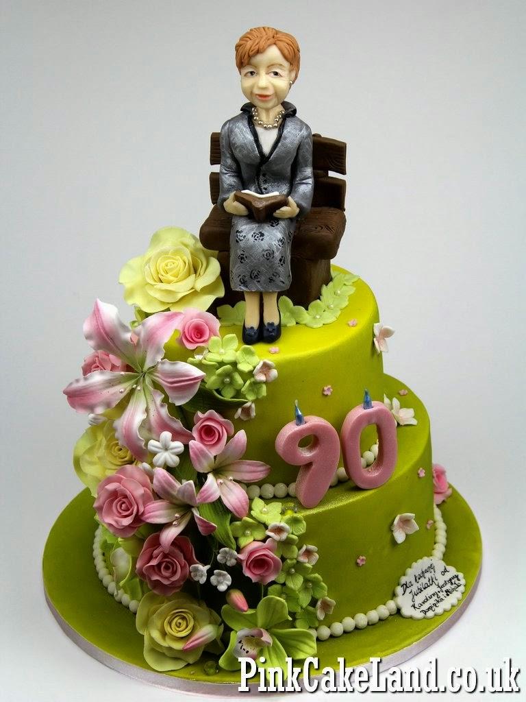 90th Birthday Cake - London Cakes