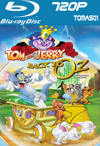 Tom y Jerry: Regreso al mundo de Oz (2016) BDRip m720p