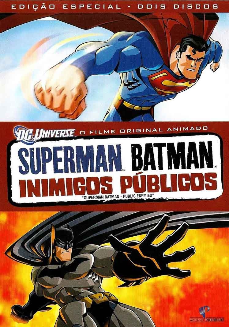 Superman & Batman: Inimigos Públicos Torrent - BluRay 1080p Dual Áudio (2009)