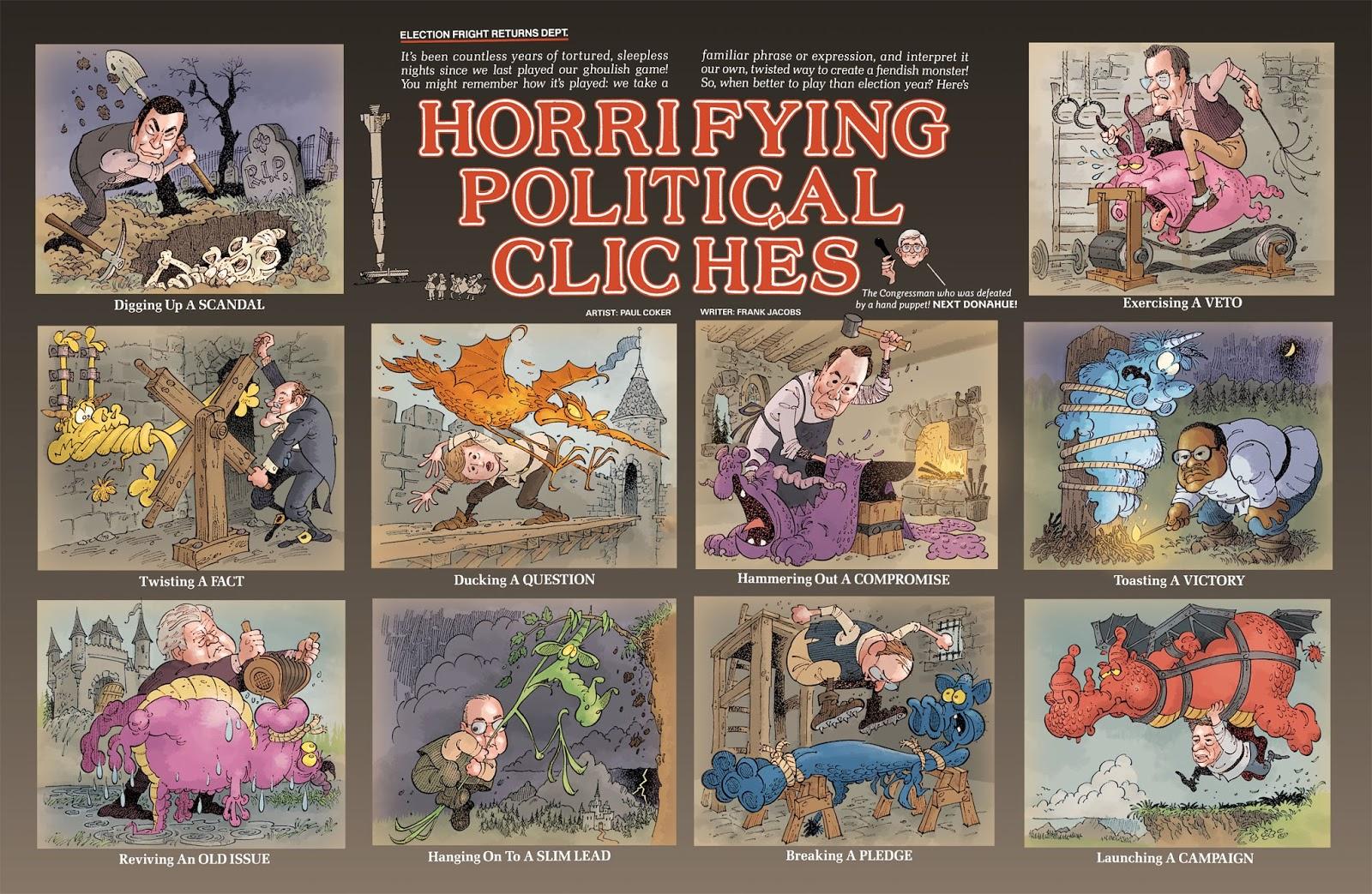 political cliche phrases