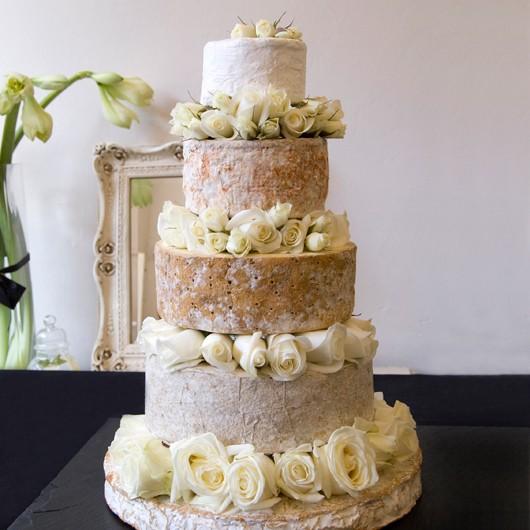 Thepinkpantry Cheese Wheel Wedding Cake
