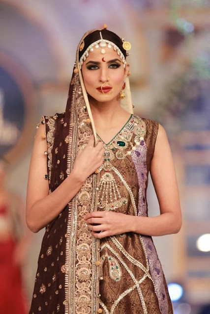 Zahid Khan - Pakistani Bridal Fashion at Pantene Bridal Couture Week 2013 PBCW Lahore