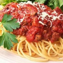 Meat-Lover's Slow Cooker Spaghetti Sauce