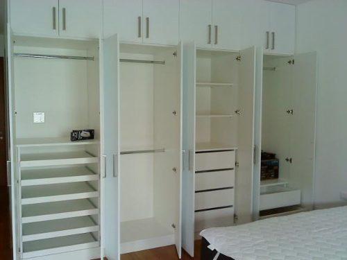 D d for Roperos para dormitorios en melamina