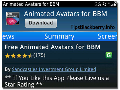 Foto Profile BBM – Animated Avatars for BBM | Blog Tips Blackberry