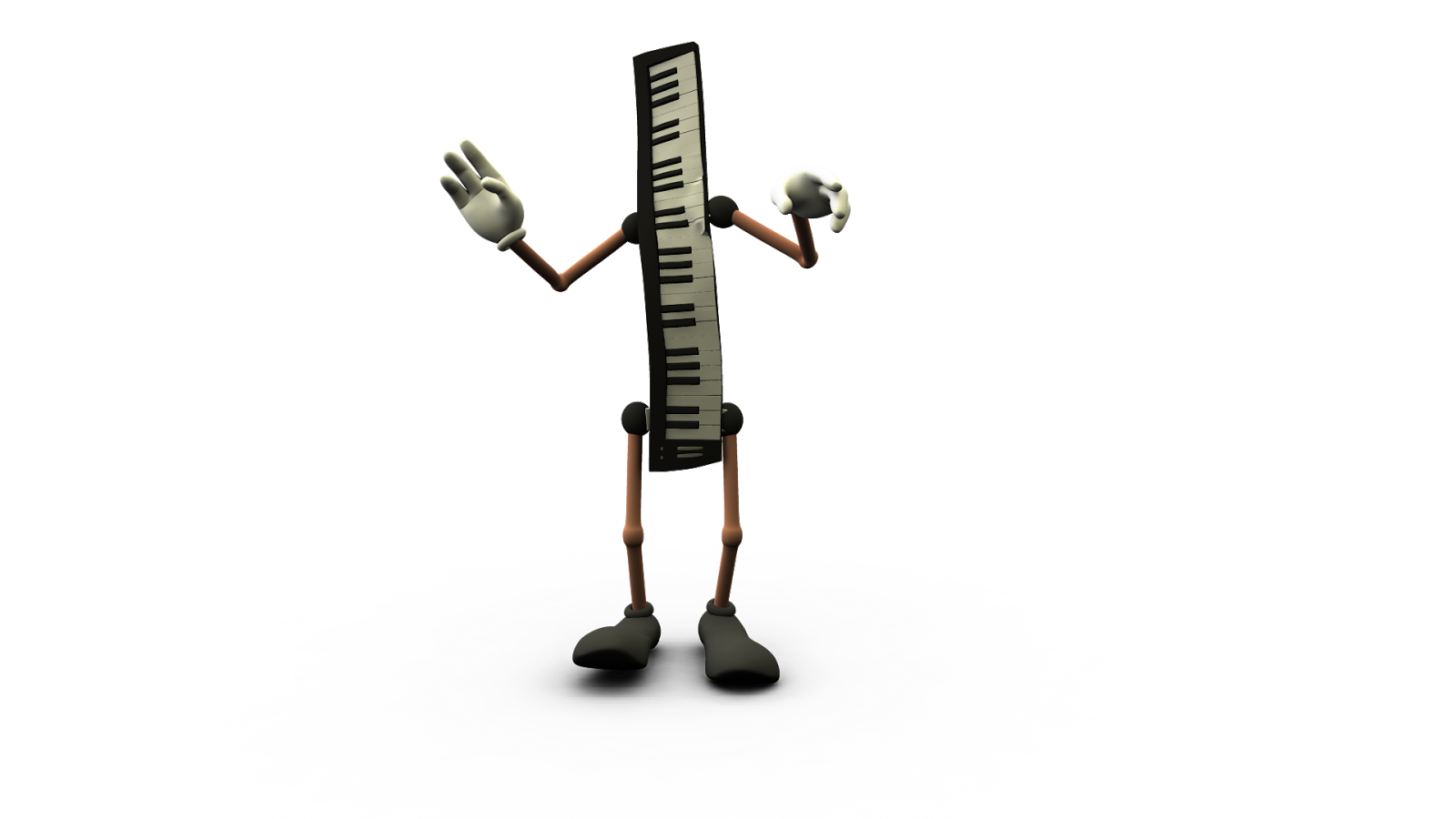 3d passion  musical instrument characters