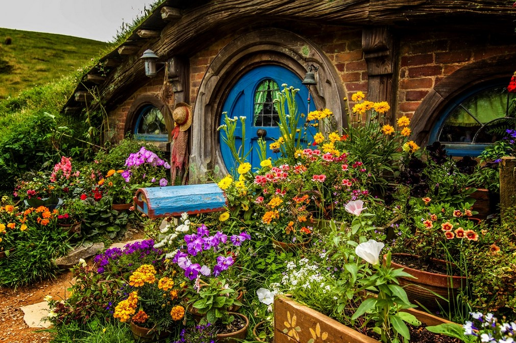 New Zealand Hobbit House let's travel the world!: hobbiton, new zealand!