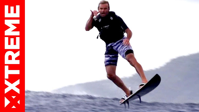 Laird Hamilton Raimana à Tahiti Ride Of The Week Ep 3