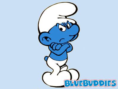 I love smurfs.