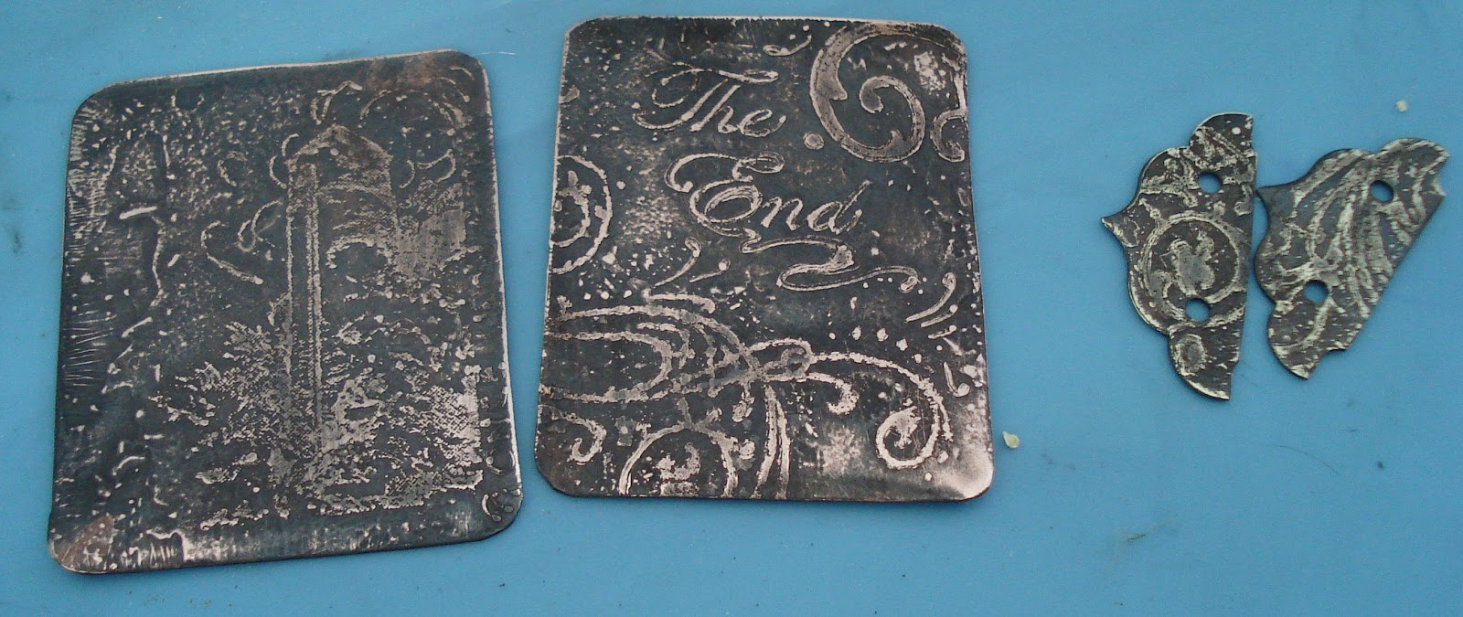 Mini Book Tutorial Metal Etched Cover Option My Stuff Life Etch Your Circuit Boards This Simple Diy Recipe Uses Common Household To Preserve The Patina And Add A Nicer Finish When You Are Satisfied With Finished Piece Looks Rub On Some Renaissance Wax Allow Sit For Several