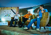 Foto: Peterson Azevedo - Pedro Mexia, Hélio Pólvora e Rosel Soares