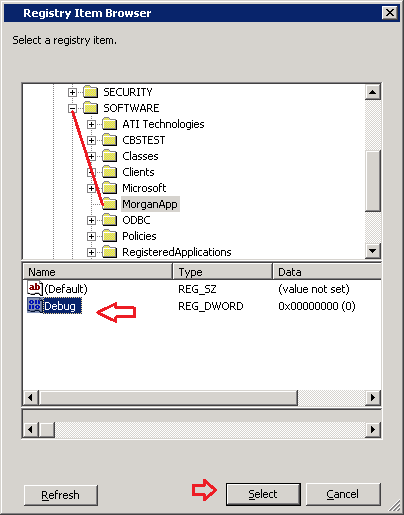 how to update existing registry value through GPO