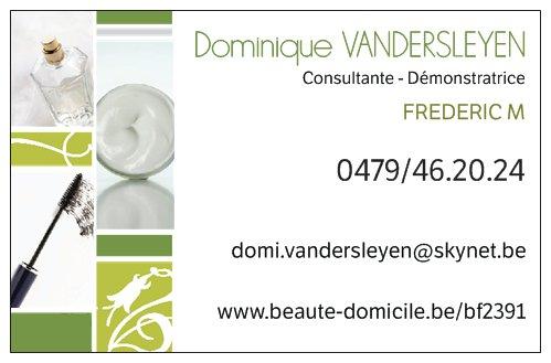 Exemple Carte De Visite Frederic M